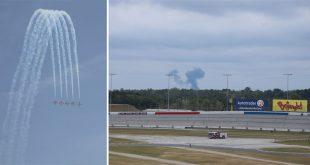 Canadian Snowbird CT-144 Aircraft Crashes During Atlanta Air Show