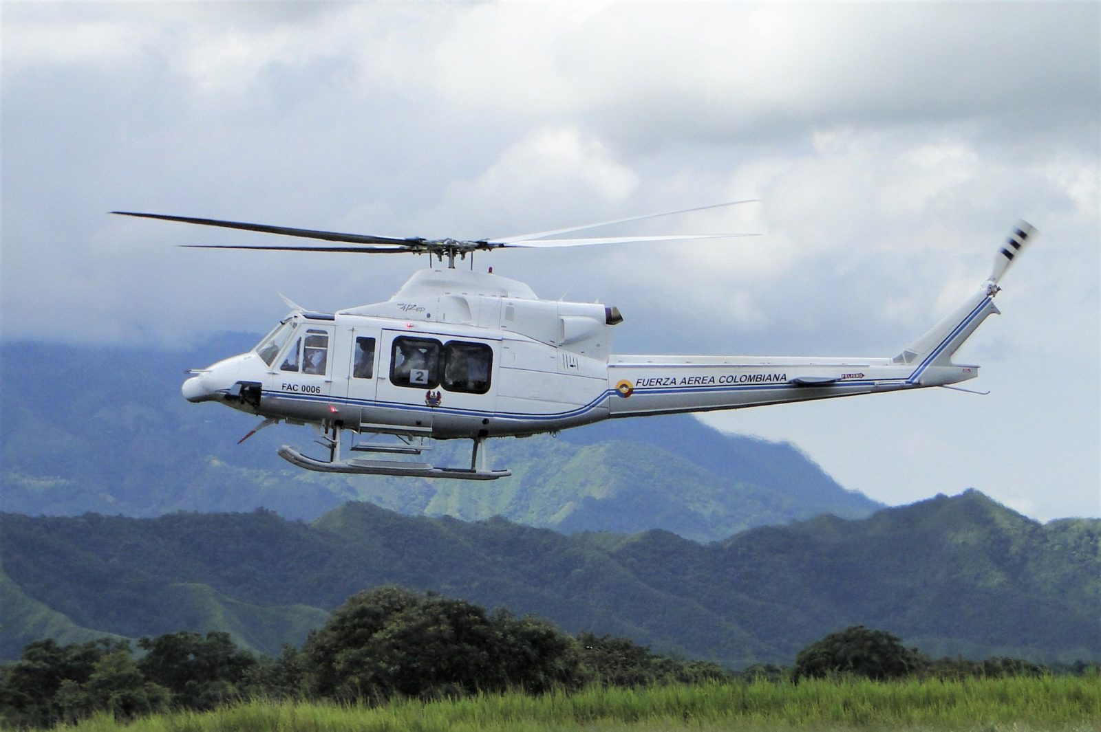 Colombian Air Force Helicopter Crash Kills All Six On-board