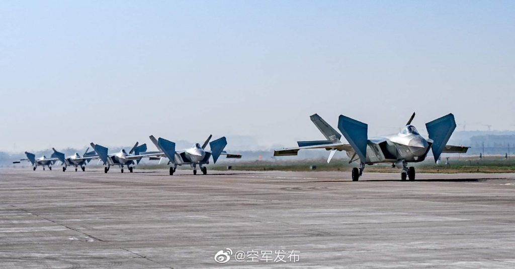 China's J-20B Stealth Fighter Jet Reportedly Goes Into Mass Production After Thrust Upgrade
