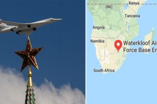 Russia Sends Tu-160 Nuclear-Bombers to South Africa