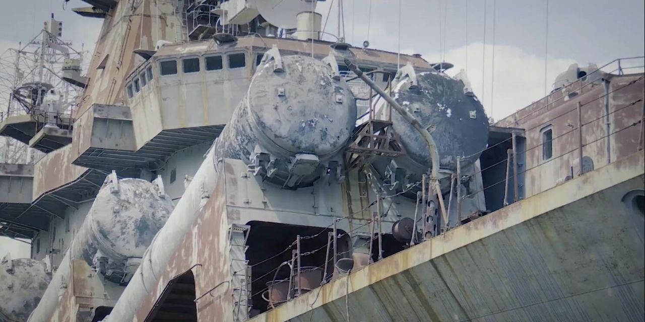 Russia Armed Kirov-Class Battle Cruiser With S-300 Air Defense System