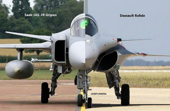 "SAAB Offered India Gripen Fighter Jet At ""Half"" The Cost Of Rafale"