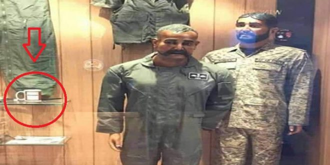 IAF Pilot Abhinandan's Mannequin Displayed With Tea Cup At PAF Museum
