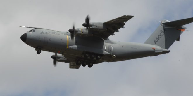 German Air Force Refuses To Take Delivery Of Two Airbus A400M Planes