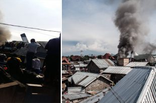 At Least 25 killed As Aircraft Crashed Onto Buildings Shortly After Takeoff