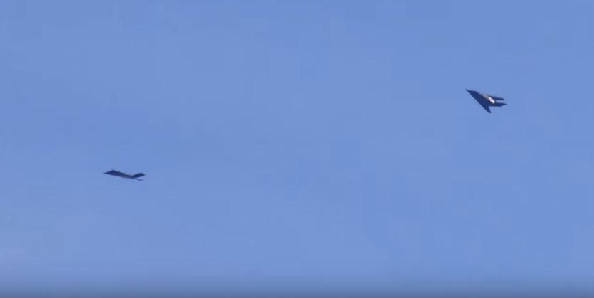 Listen Radio Comms Of Retired F-117 Nighthawk Still Flying Over Nevada