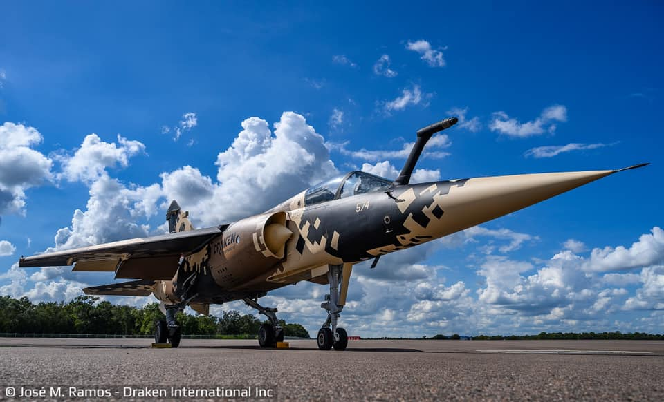 Draken Unviels First Mirage F1M Jets Destined For Aggressor Role