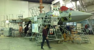 Video Shows Russia's First Serial Su-57 Fighter Jet Getting Assembled