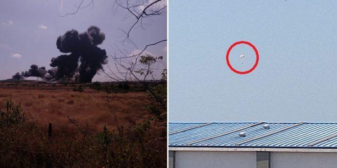Indian Navy MiG-29KUB Fighter Jet Crashes Near Goa Airport