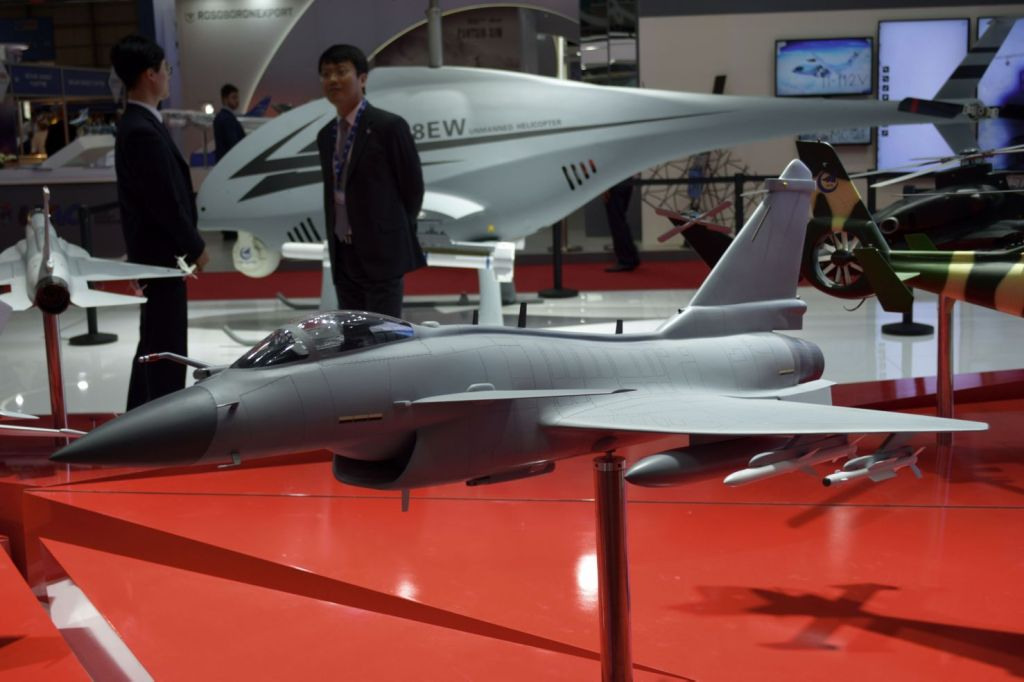 China Unviels Export Variant Of J-10 Fighter Jet At Dubai Airshow 2019