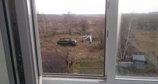 Russia Orion Attack Drone Crashed Near The Vilalge Of Listvyanka