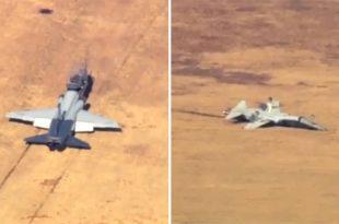 USAF Releases Details Of Fatal T-38 Talon Jets Mishap During Formation Flights