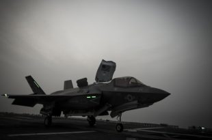 Interesting Bomb Markings Spotted On U.S. F-35B Fighter Jet
