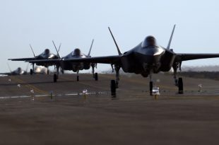 U.S. Air Force Deploys F-35A Lighting II Squadron Near Iranian Border