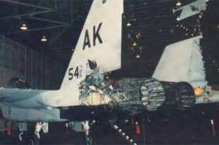 When U.S. Air Force F-15 Eagle Almost Accidentally Shot Down Another F-15 Fighter Jet