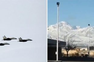 Iran Air Force MiG-29 Fighter Jet Crashes Near Mount Sabalan Killing Two Pilots