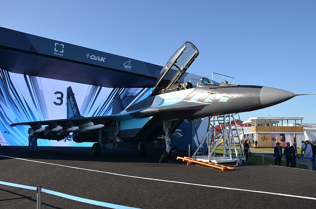 Russian Mikoyan MiG-35 Fighter Jet to Receive New Cockpit