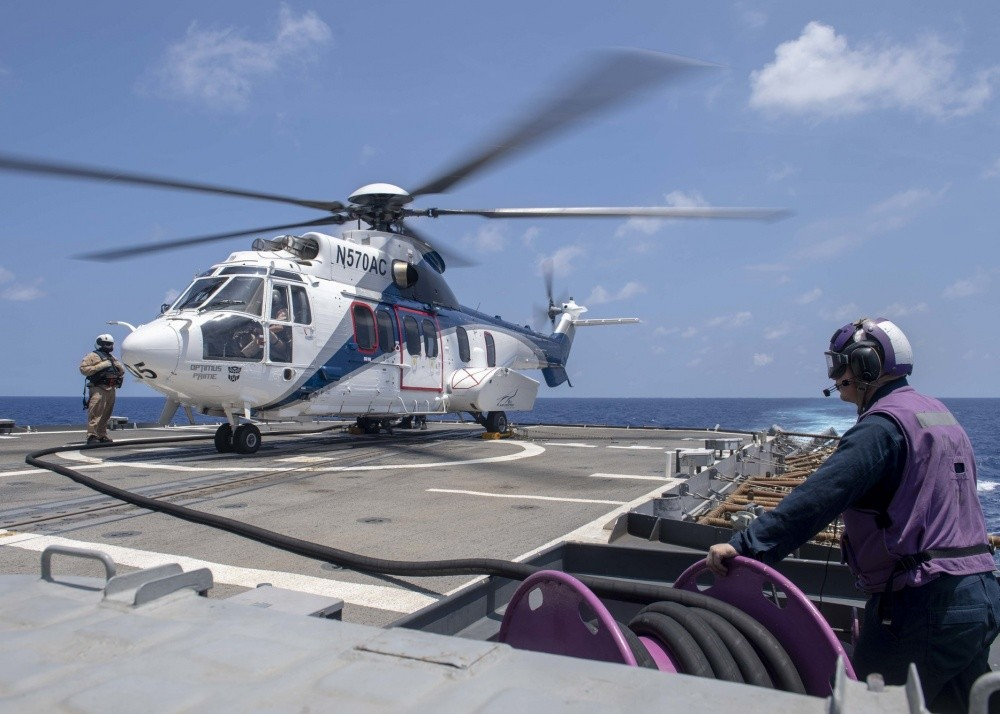 Why U.S. Navy Uses Fleet Of Commercial Helicopters On Aircraft Carriers?