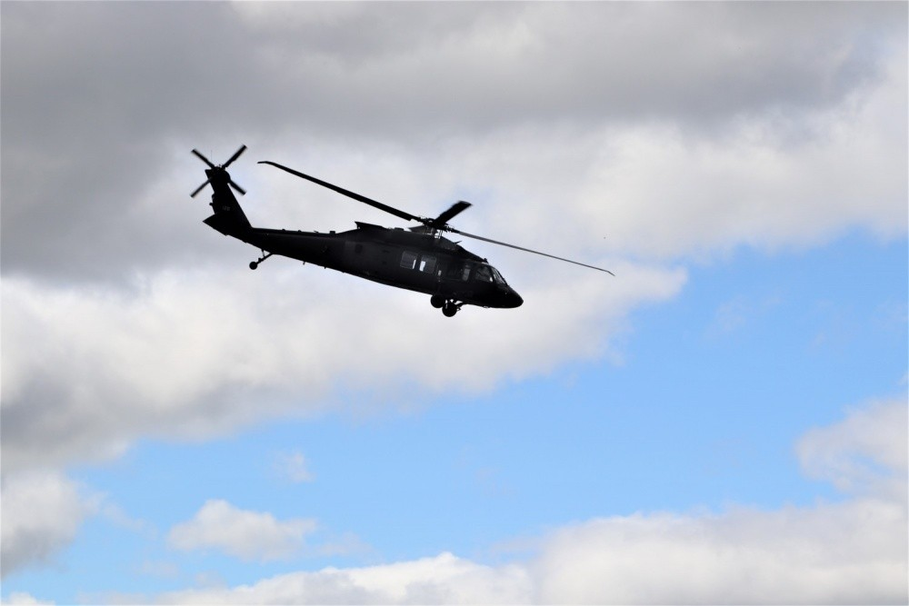 National Guard UH-60 Black Hawk Helicopter Crashed In Minnesota