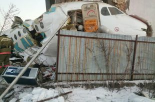 Bek Air Plane Carrying 101 Passenger Crashes After Take-Off In Kazakhstan
