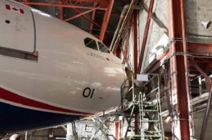 Royal Canadian Air Force Can Force One Grounded After A Hangar Crash