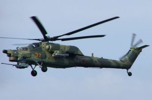 Russian Air Force Mil Mi-28 Helicopter Crashed Near Korenovsk Airfield