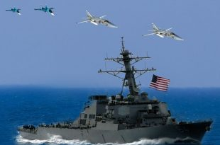 Russian Fighter Jets Buzzed U.S. Navy Destroyer In The Black Sea