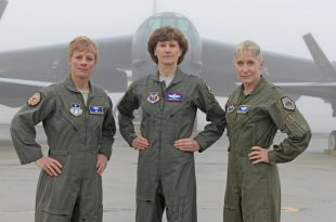 80 Female Pilots Gathered At Edwards AFB For The Filming Of Air Force Recruiting Service commercial