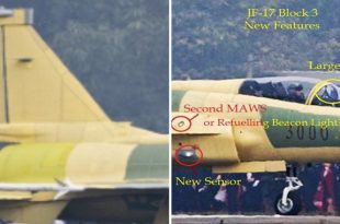 Here Are Major Changes Spotted On First JF-17 Thunder Block III Prototype
