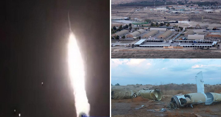Operation Martyr Soleimani: Iran Fired 22 Ballistic Missile At U.S. Bases In Iraq