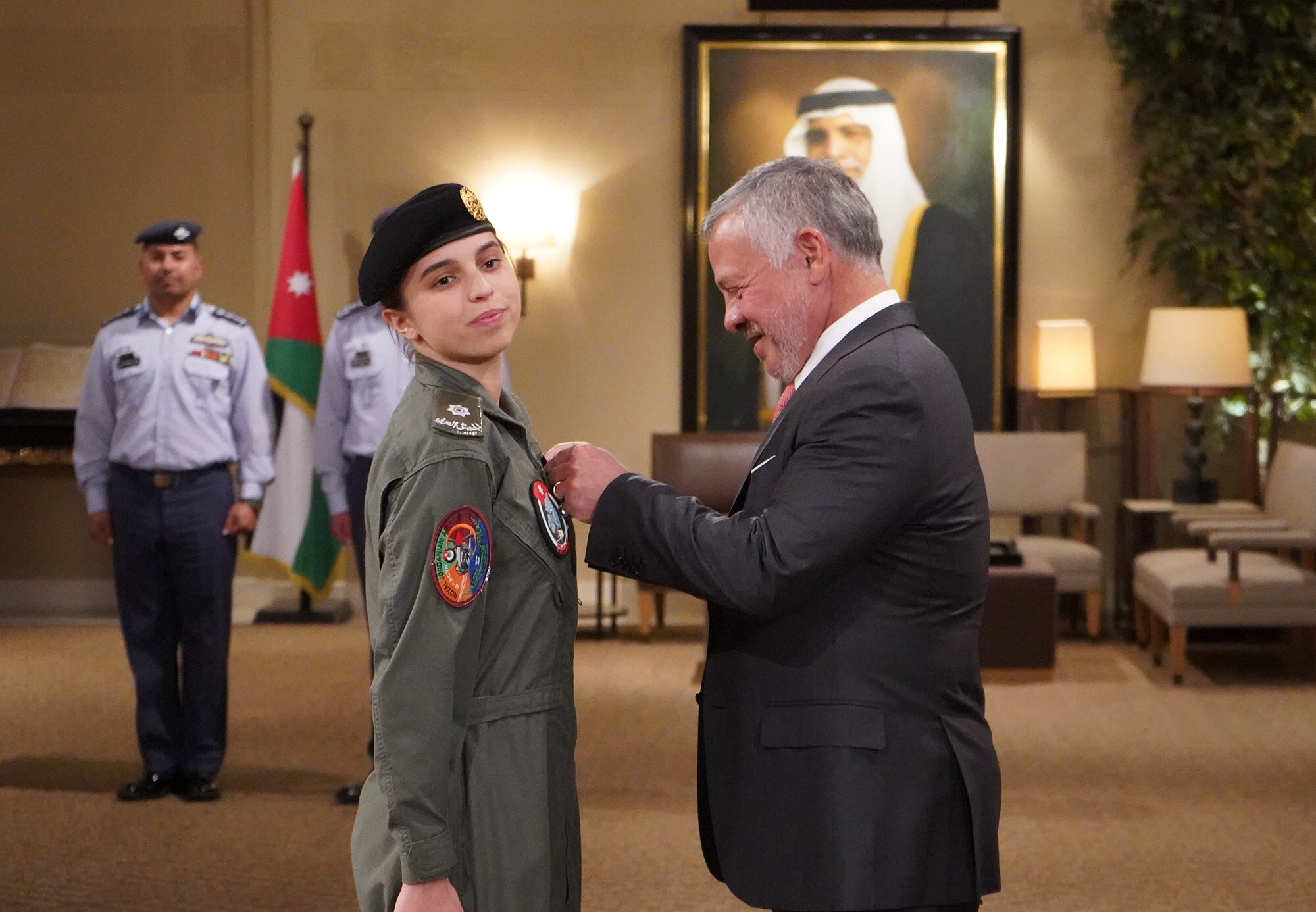 Jordanian Princess Becomes Her Country's First Female Pilot