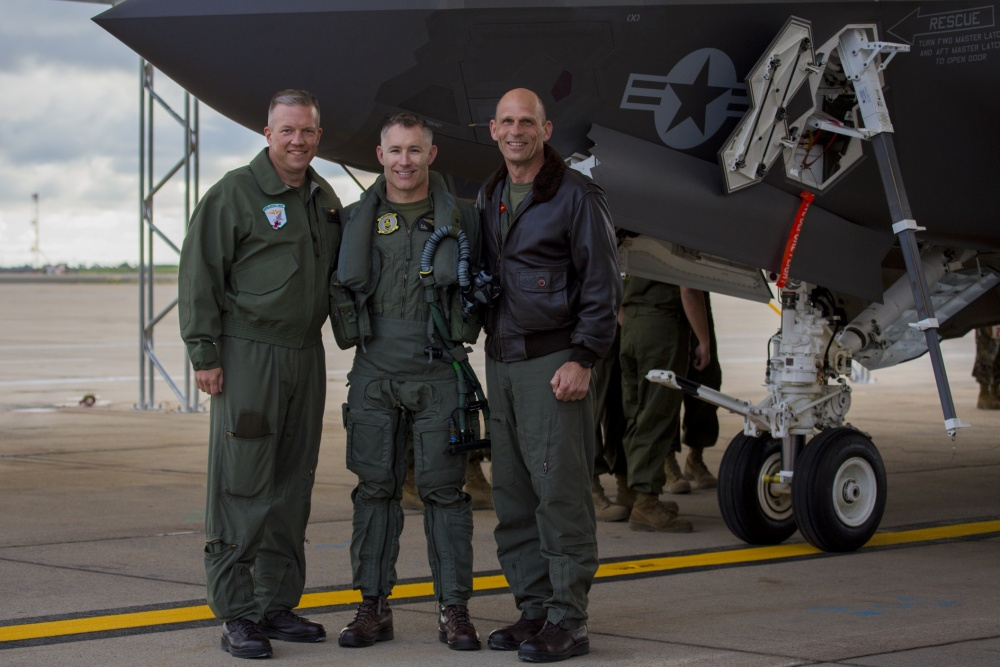 U.S. Marine Corps Got Its First Carrier-Based F-35C Fighter Jet