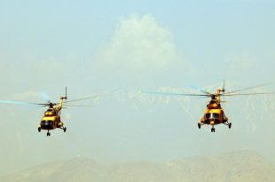 Afghan Army Mi-35 & Mi-17 Helicopter Crashed In Separate Incidents In One Day