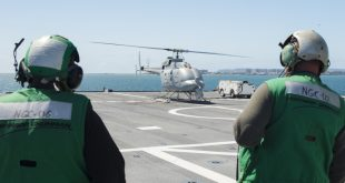 Unique Unmanned Autonomous Helicopter Spotted On USS Montgomery