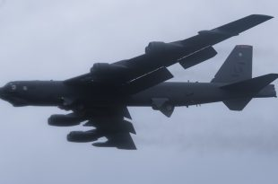 Satellite Imagery Spotted U.S. Air Force B-52s At Diego Garcia Amid Iran Tensions