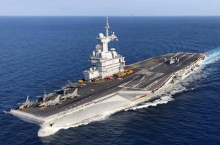France's Only Aircraft Carrier Returned To home After 1000 Sailors Have Tested Positive For COVID-19