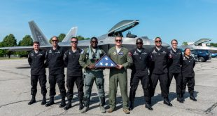 U.S. Air Force F-22 Raptor Demo Team Announces New Pilot