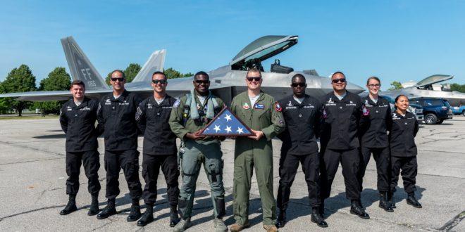 U.S. Air Force F-22 Raptor Demo Team Announces New Pilot