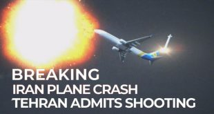 Iran Admits To Mistakenly Shooting Down Ukrainian Airlines Flight 752