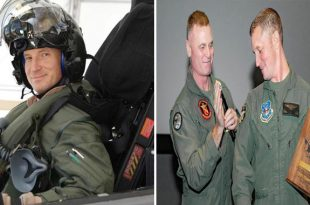 Lt. Col. Brian W. Bann Becomes First Pilot To Hit 1000 Flight Hours In F-35 Fighter Jet