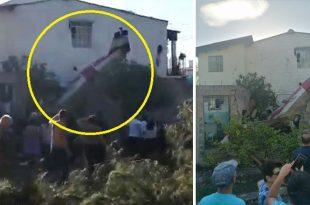 Salvadoran Air Force Training Aircraft Crashed Into A House: Pilot & Co-pilot Died