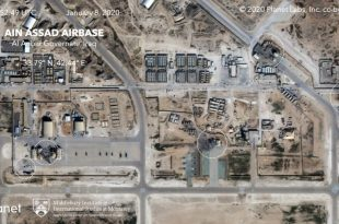 Satellite Imagery Shows Extent Of Damage From Iranian Missile Strike On U.S. Airbase In Iraq