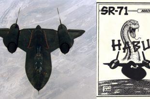 How Worlds Fastest Plane SR-71 Blackbird HABU Logo Was Conceived