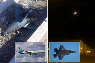 Russia Claims That U.S. F-35 Jets Spooked Iran Into Mistakenly Shooting Down Ukrainian PlaneRussia Claims That U.S. F-35 Jets Spooked Iran Into Mistakenly Shooting Down Ukrainian Plane