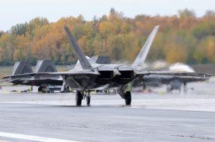U.S. Air Force F-22 Raptor Fleet Facing Engine Shortage: Report