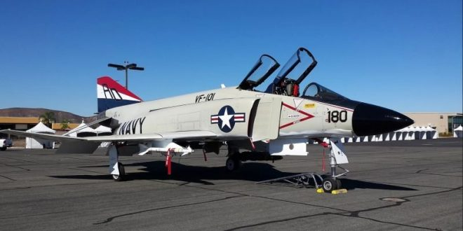 McDonnell F4H-1F Phantom II Fighter Jet For Sale For Only $3.9 Million