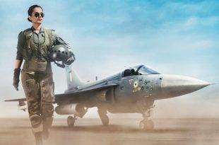 Tejas First Look: Indian Actress Kangana Ranaut First Look As An IAF Pilot