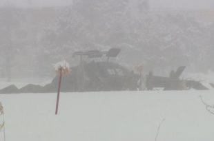 Japan Ground Self-Defense Force Bell UH-1J Helicopter Crashed During Landing