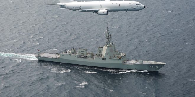 Chinese Navy Warship Fired Laser At U.S. P-8A Poseidon Surveillance Aircrft: Report
