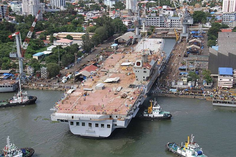 India Plans For Third Aircraft Carrier 'INS Vishal' Have Reportedly Been Shelved Over Financial Woes